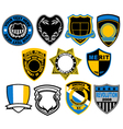 Badge collection vector
