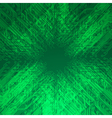 Abstract electronics green background vector