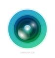 Colorful camera app vector