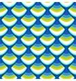Geometric art deco modern futuristic pattern vector