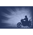 Motorcyclist background 2 vector