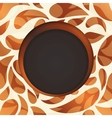 Round frame multicolored abstract background vector