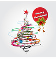 Abstract christmas celebration card vector