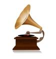 Retro gramophone vector