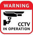 Cctv pictogram security camera vector