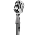 Microphone mg 2833 vector