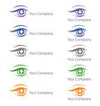 Ophthalmologist logo vector