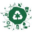 Earth green vector