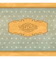 Retro vintage background vector