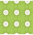 Spring strawberry leaf rhythm pattern repetition vector