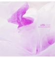 Abstract background with purple stains watercolor vector