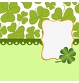 Saint patricks day postcard vector
