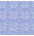 Purple textile circles seamless patter background vector