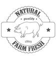 Quality farm fresh vector