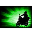 Motorcyclist background 4 vector
