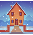 Cartoon house vector