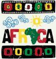Africa elements vector