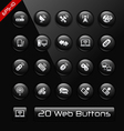 Wireless comunications black label series vector