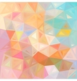 Pastel colors abstract triangles background vector