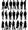 Business people collection vector