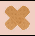 Bandaid plaster vector