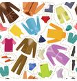 Seamless clothes vector