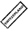 Switzerland stamp vector