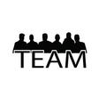 Teamwork people vector