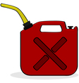 Emergency fuel supply vector