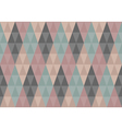 Triangles diamond seamless pattern vector