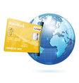 Internet shopping and electronic payments concept vector