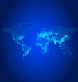 Population world map vector