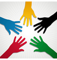London olympic games hands vector