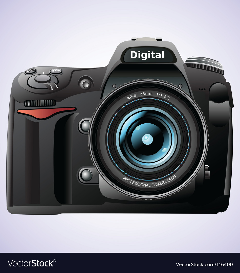 And camera vector vector | Price: 3 Credit (USD $3)