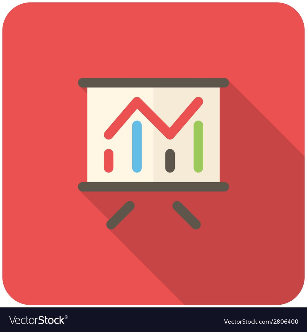 Chart icon vector   Price: 1 Credit (USD $1)