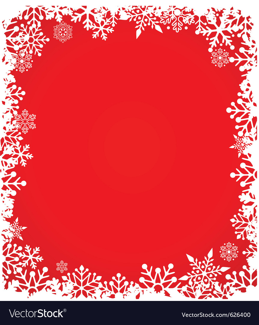 Christmas background with snowflakes pattern vector | Price: 1 Credit (USD $1)