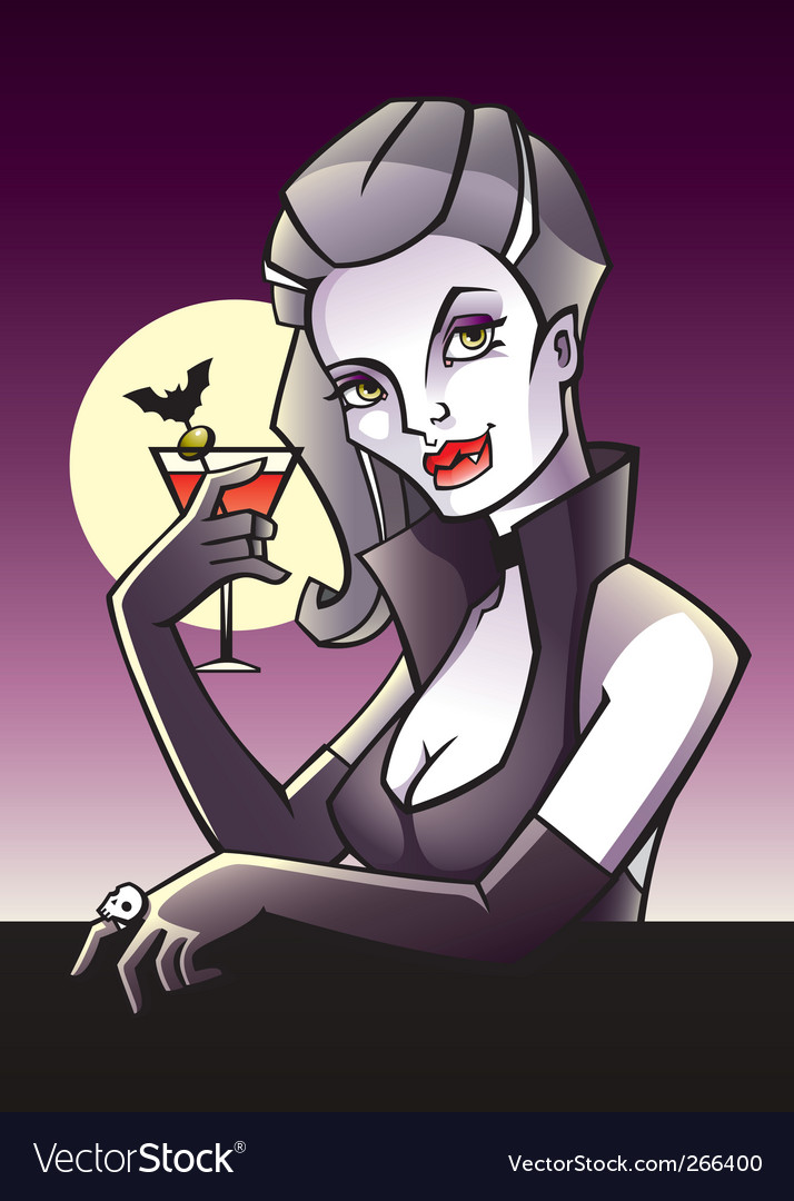 Vamp vector | Price: 3 Credit (USD $3)