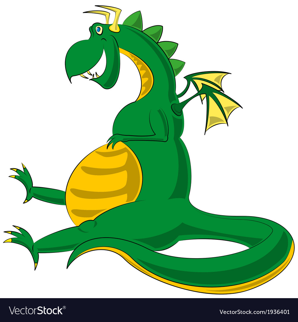 Dragon theme vector | Price: 1 Credit (USD $1)