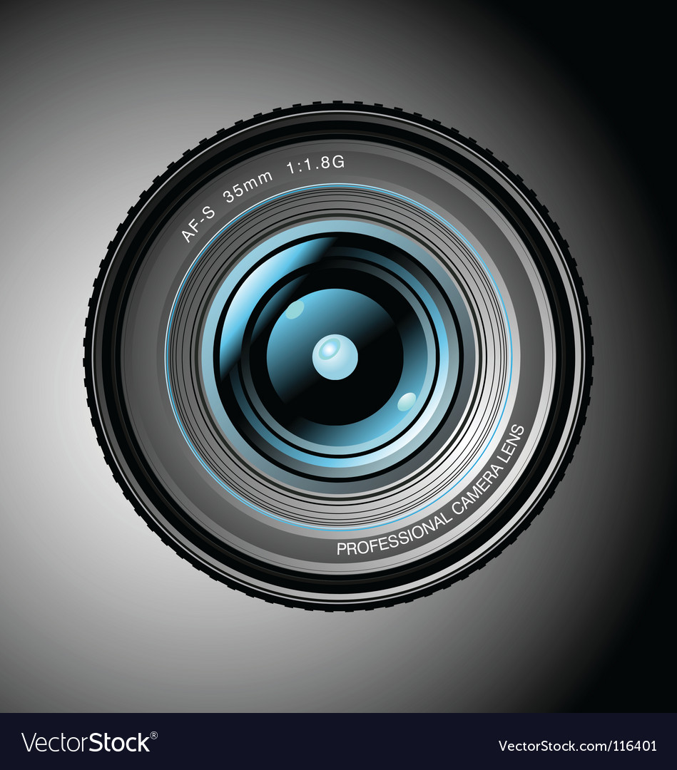 Professional lens vector | Price: 3 Credit (USD $3)