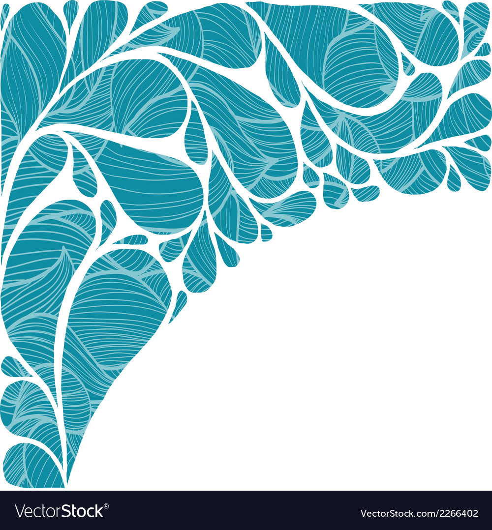 Abstract background with drops vector | Price: 1 Credit (USD $1)