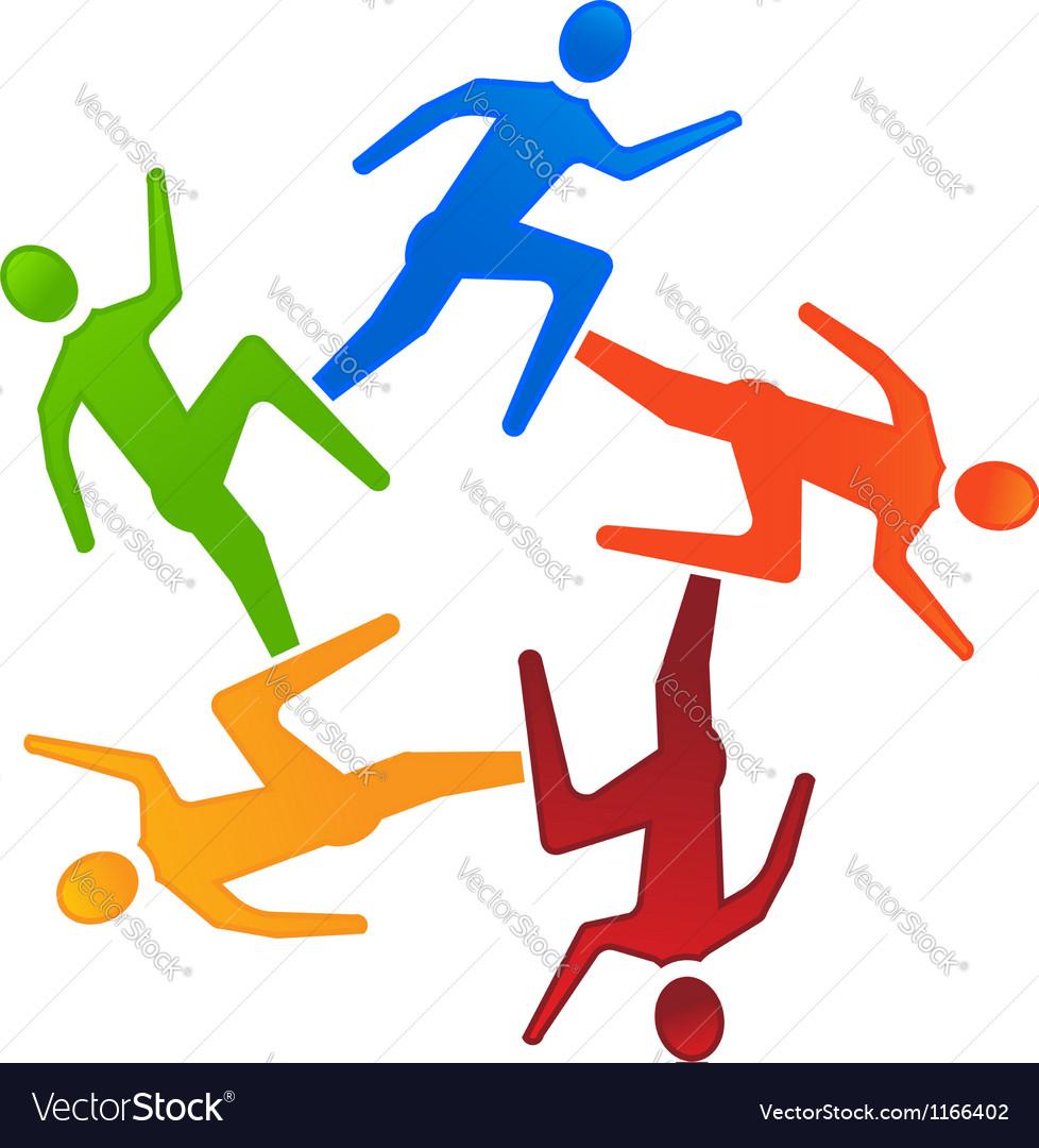 Team runners 5 vector   Price: 1 Credit (USD $1)