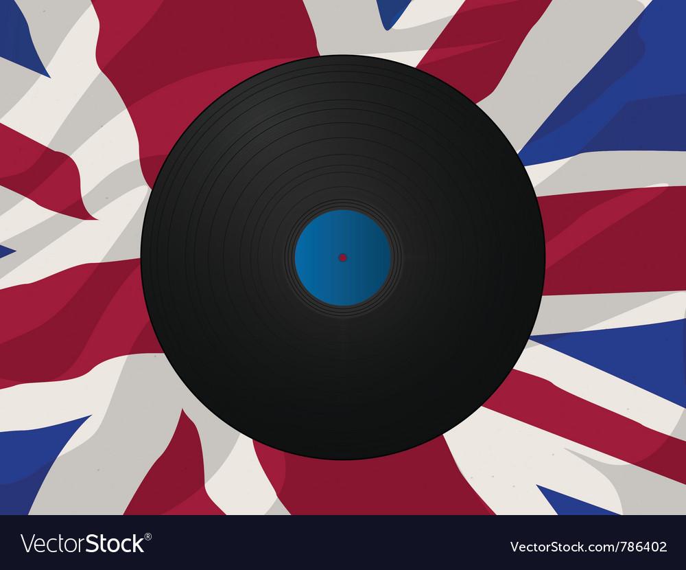 Vintage vinyl disk vector | Price: 1 Credit (USD $1)