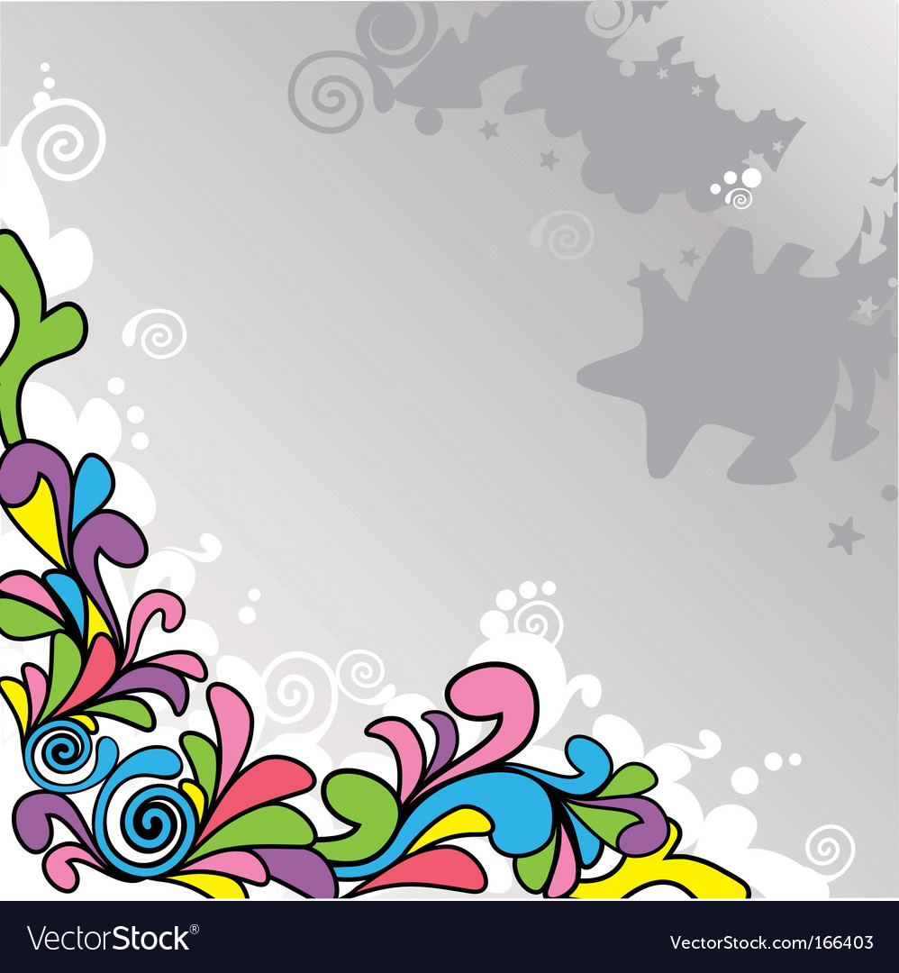 Abstract cartoon background vector | Price: 1 Credit (USD $1)