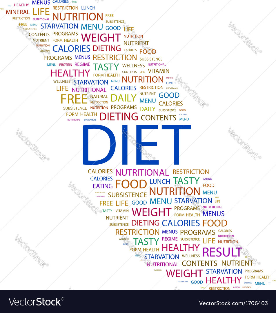 Diet vector | Price: 1 Credit (USD $1)