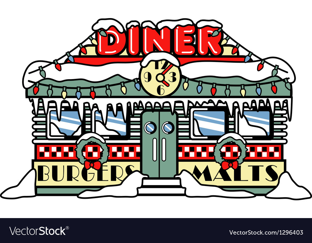 Diner vector | Price: 1 Credit (USD $1)
