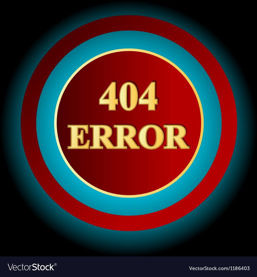 Error symbol vector | Price: 1 Credit (USD $1)
