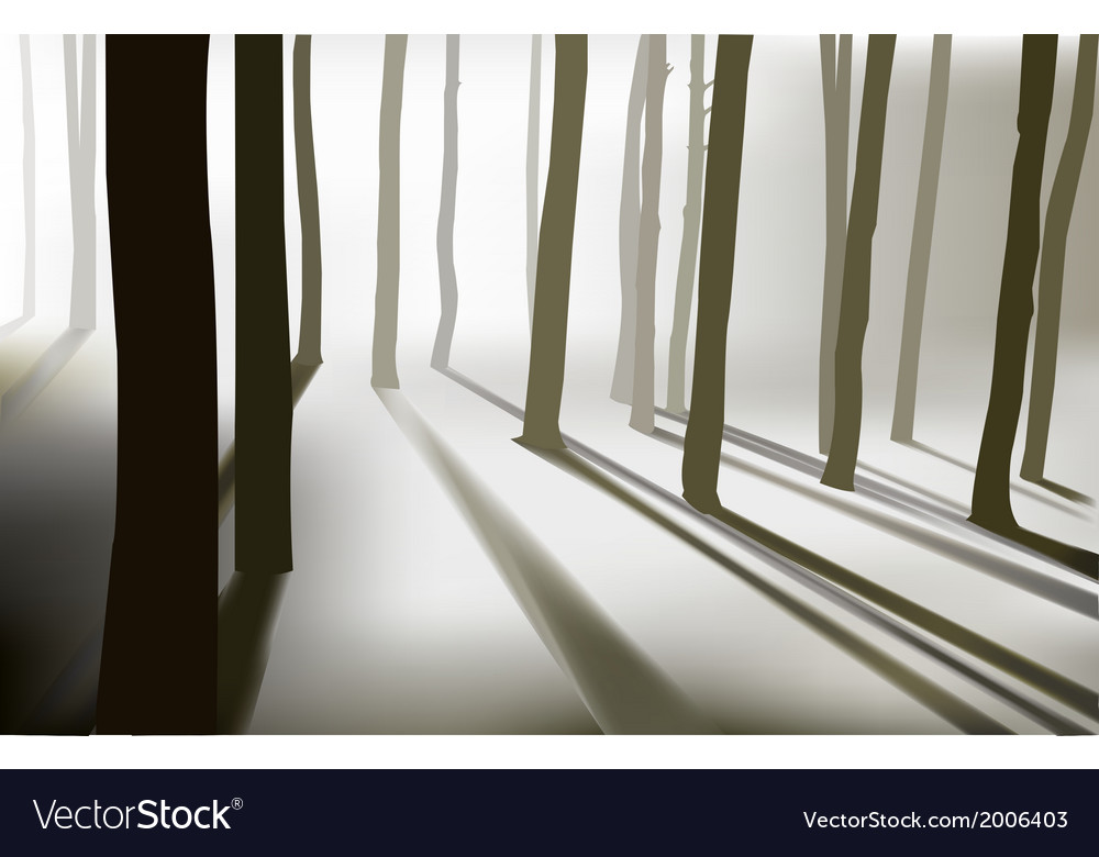Mysterious forest vector | Price: 1 Credit (USD $1)