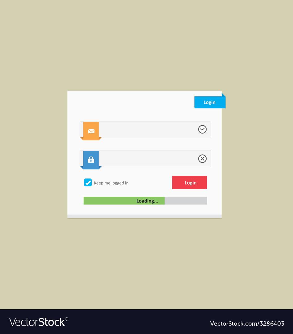 User login 30 vector | Price: 1 Credit (USD $1)