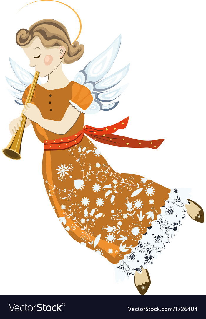 Angel two vector | Price: 1 Credit (USD $1)