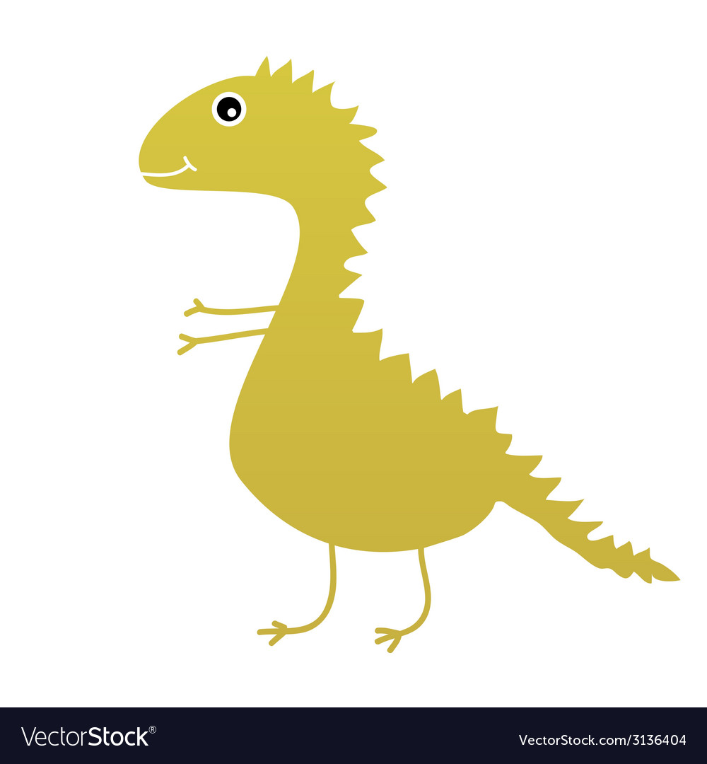 Dinosaur sweet and cute vector | Price: 1 Credit (USD $1)